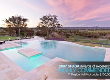 SPASA Awards Residential Pool under $100,000