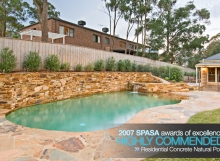 SPASA Residential Concrete Natural Pool