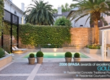 SPASA Awards Residential Concrete Traditional Pool